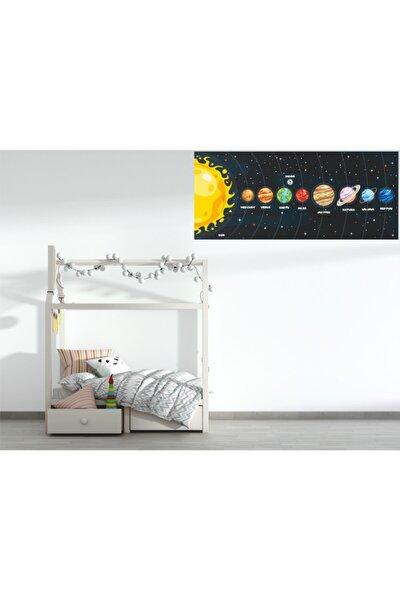 Güneş Sistemi Dekoratif Sticker
