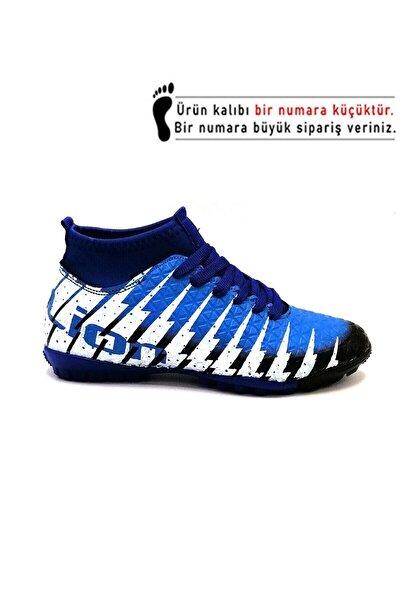Erkek Siyah Sax Çoraplı Halısaha Futbol Ayakkabısı 1453 Ln1453-hs