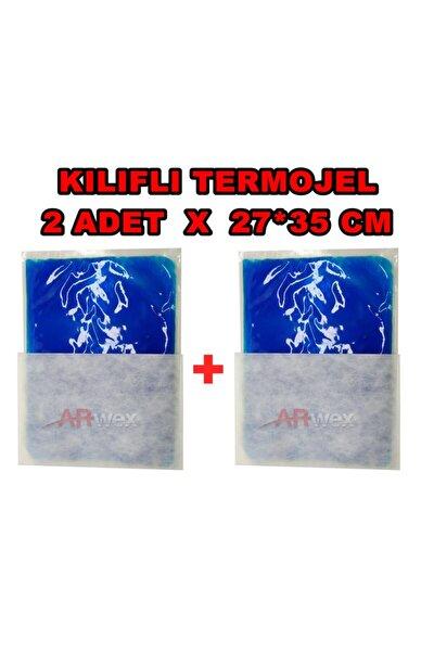 Kılıflı 27 X 35 Cm 2 Adet Büyük Boy Termojel Sıcak Soğuk Termo Jel Kompres Buz Jel Termojel