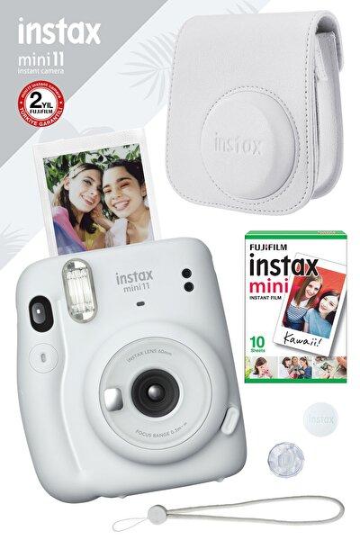Instax Mini 11 Beyaz Fotoğraf Makinesi Ve Hediye Seti 3