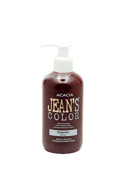Saç Boyası - Jean's Color Saç Boyası Magenta 250 ml 8680114781631 (Oksidansız)