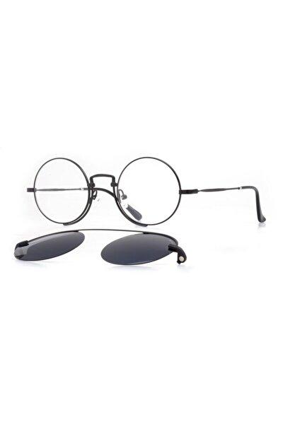 Numarasız Mavi Işık Filtreli, Polarize Güneş Gözlüğü Aparatlı Gözlük