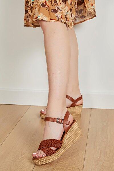 Kadın Taba Yazlık Sandalet
