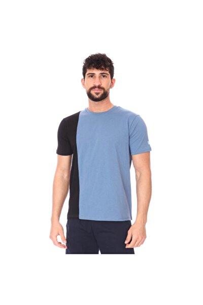 Erkek Lacivert Günlük Stil T-Shirt
