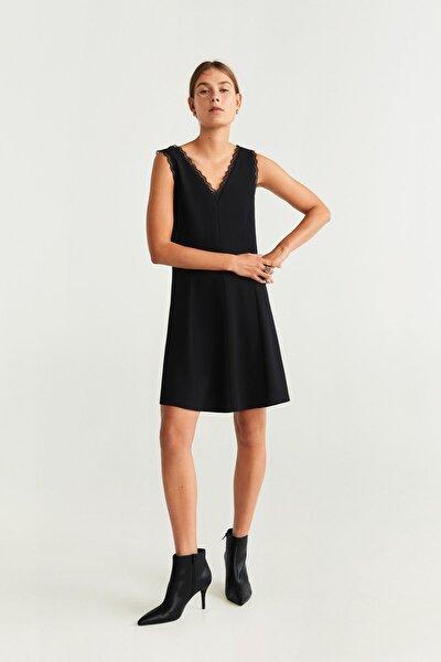 Kadın Siyah Elbise 51015752