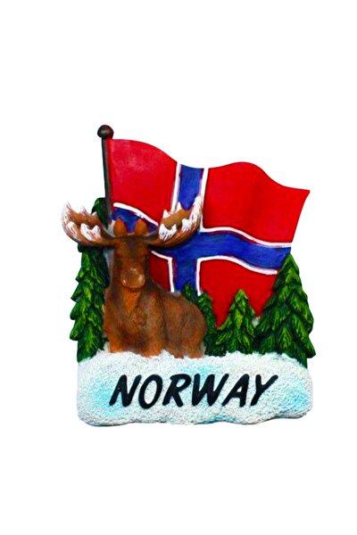 Buzdolabı Magneti Nordik Ülkeleri Norveç