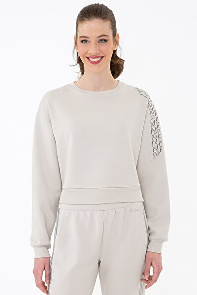 Bej Kadın Sweatshirt G022SZ082.000.1320872