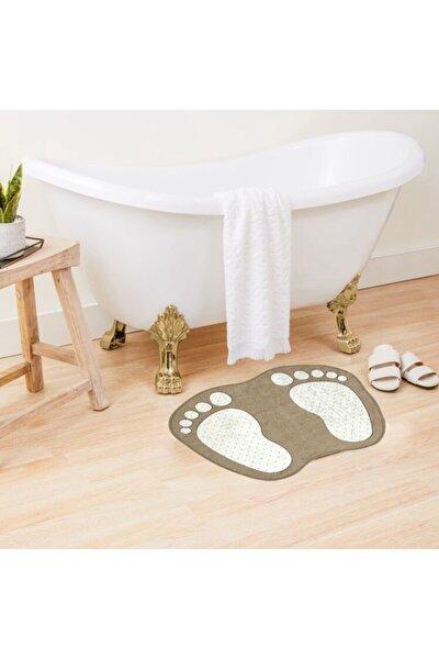 Ayak Izi Desen Banyo Paspası 40cmx60cm