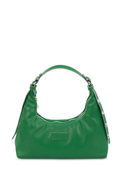 Kadın Yeşil Baguette Çanta 205