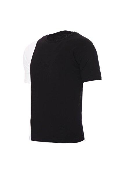 Erkek Siyah Günlük Stil T-Shirt