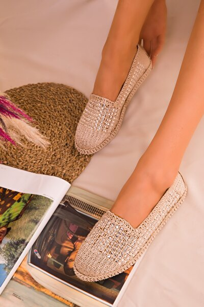 Bej Kadın Casual Ayakkabı 16117