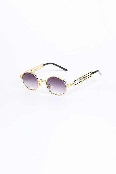 Aslan Oval Vintage Güneş Gözlüğü - Degrade Cam