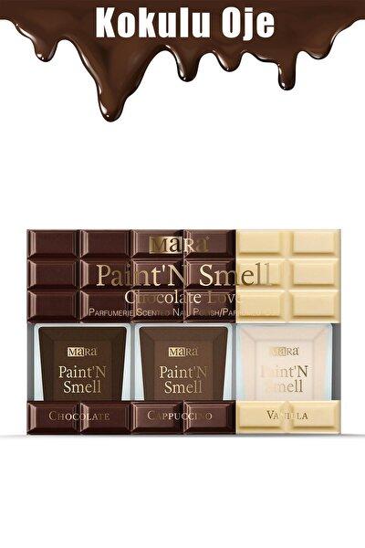 Paint'n Smell Chocolate Love Kokulu Oje Seti