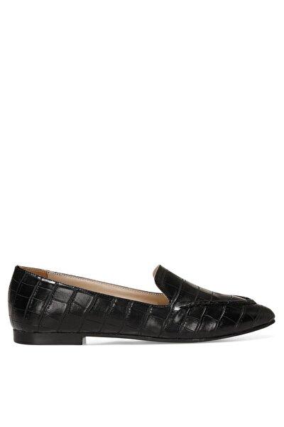 SIMPA 1FX Siyah Kadın Loafer Ayakkabı 101011722