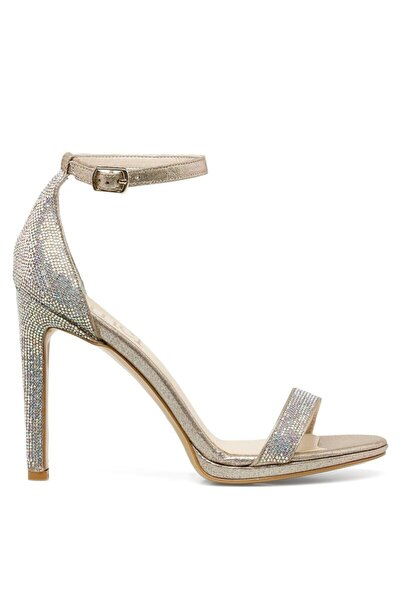 PARLE.Z 1FX Altın Kadın Topuklu Sandalet 101038356
