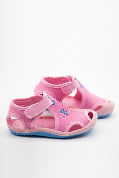 Kız Çocuk Kumaş Sandalet