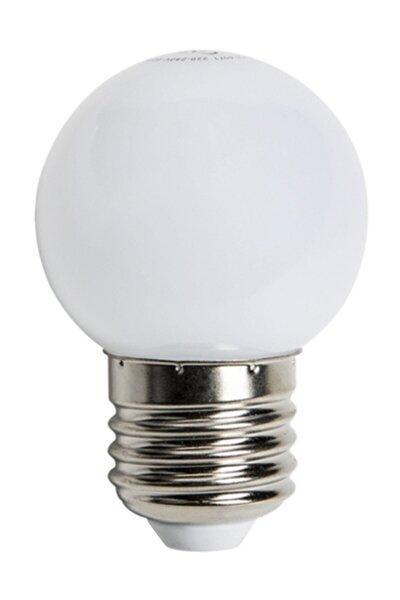 Gece Lambası Beyaz 1w Top E27 G45 Led