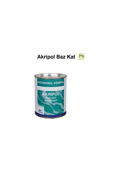 Toyota Gümüş Gri / Toy-1co - Akripol Baz Kat Boya - Akzonobel Marka, 1.grup, 1 Lt.