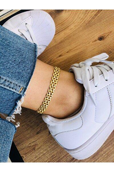 Kadın Gold Renk Halhal