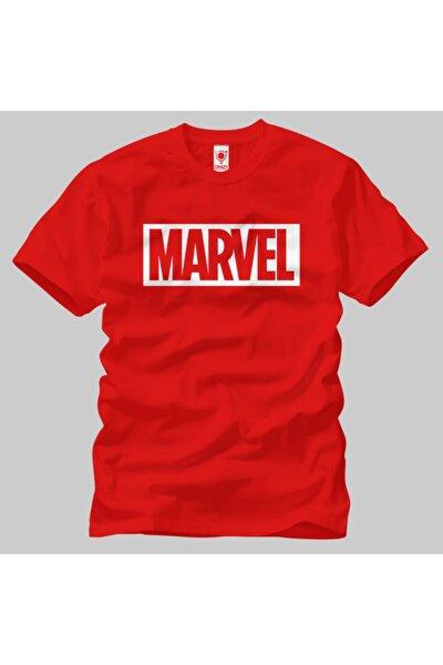 Marvel Logo Unisex Tişört