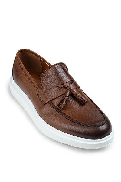 Taba Erkek  Loafer Ayakkabı 01587MTBAP03