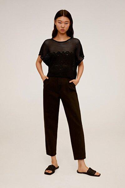 Kadın Siyah T-Shirt 67007721
