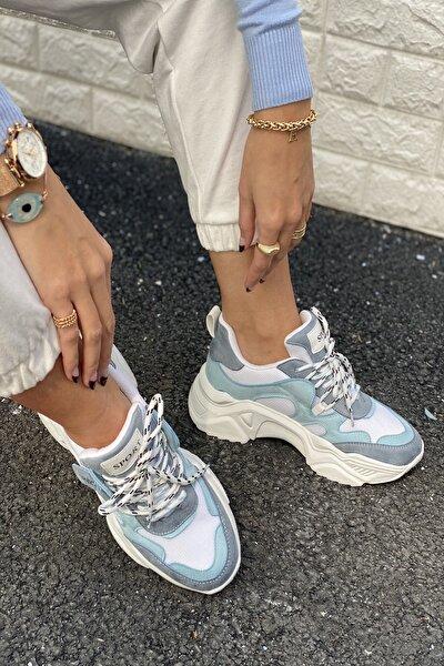 Kadın Mavi Spor Ayakkabı&Sneaker INASPORT101