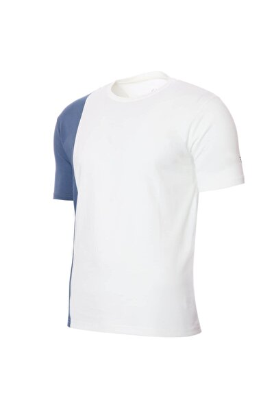 Erkek Beyaz Günlük Stil  T-Shirt