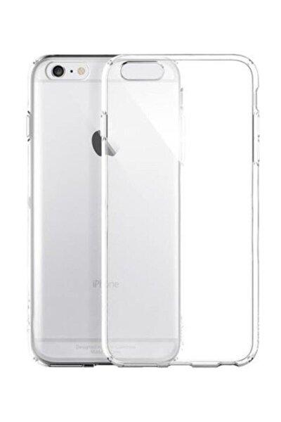 Iphone 6 Ve 6s Uyumlu Şeffaf Silikon Kılıf Düz