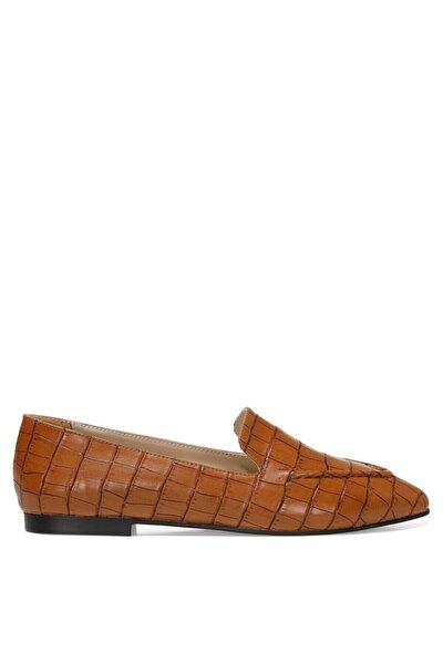 SIMPA 1FX Taba Kadın Loafer Ayakkabı 101011721