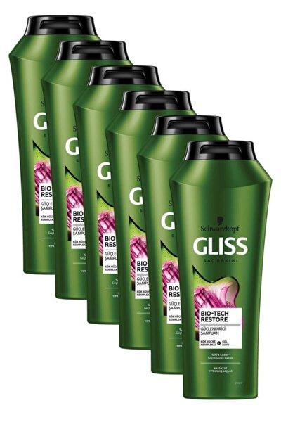 Bio-tech Güçlendirici Şampuan 500 ml 6'lı