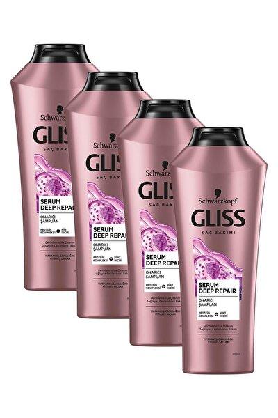 Serum Deep Repair Onarıcı Şampuan 360 ml 4'lü