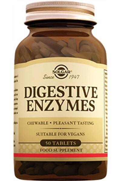 Digestive Enzymes 50 Tablet - Sindirim Enzimleri Skt:09/22