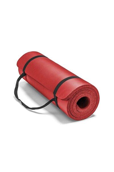 1,5 Cm Pilates Minderi | Pilates Matı 15 Mm Kırmızı Renk