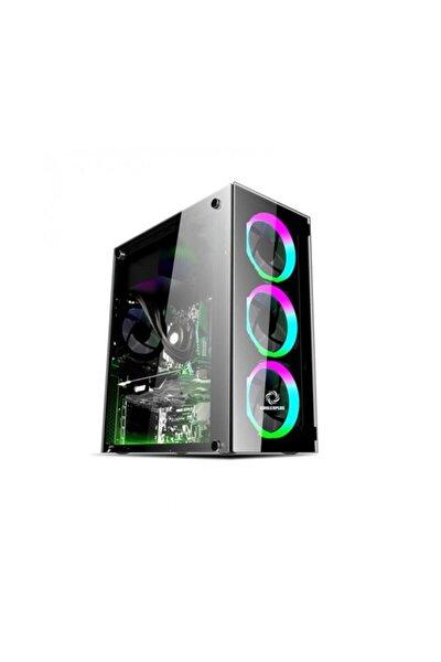 Gt-003 4x120mm Fanlı Pencereli Gaming Oyuncu Bilgisayar Kasası ( Psu Yok )