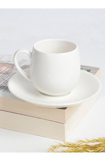 Porselen 6 Lı Kahve Fincanı Porj-010131