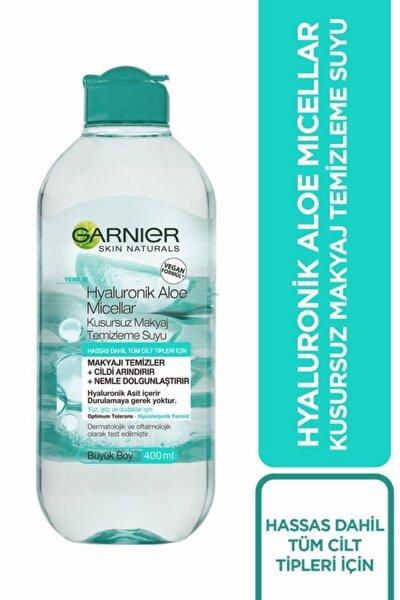 Micellar Hyaluronik Aloe Kusursuz Makyaj Temizleme Suyu 400 ml