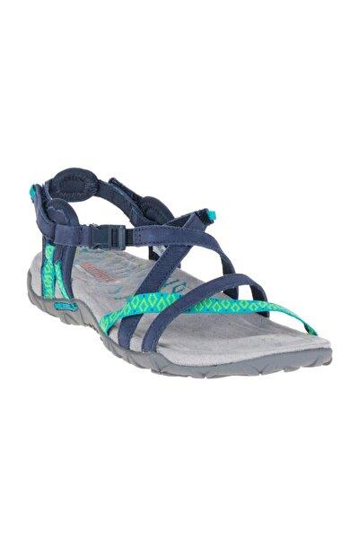 Terran Lattıce Iı Lacivert Kadın Sandalet
