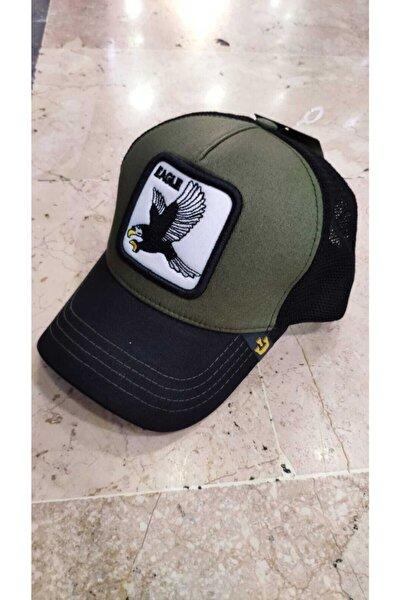 Hayvan Figürlü Fileli Şapka Kartal