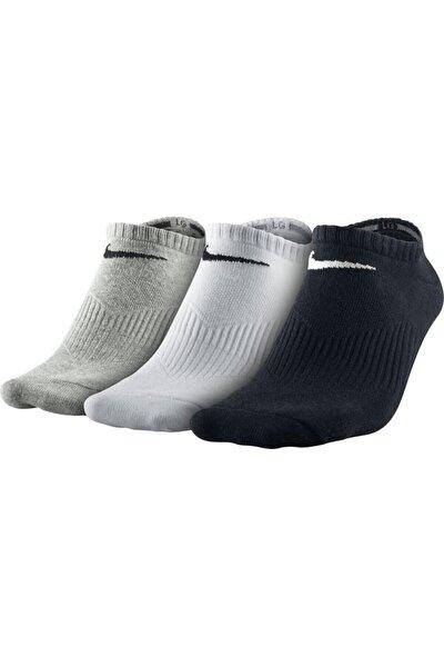 Kadın Training Çorap - 3'lü Lightweight No Show SX4705-901