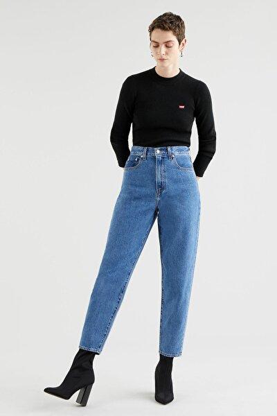 Kadın High Loose Kadın Taper Jean Pantolon-Hold My Purse 1784700040