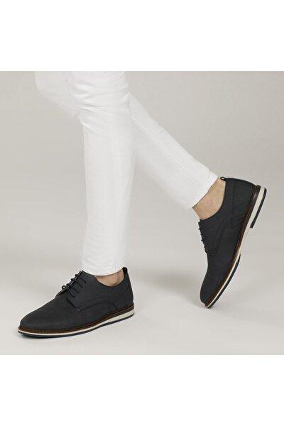 9906-1 1FX Lacivert Erkek Klasik Ayakkabı 101015365