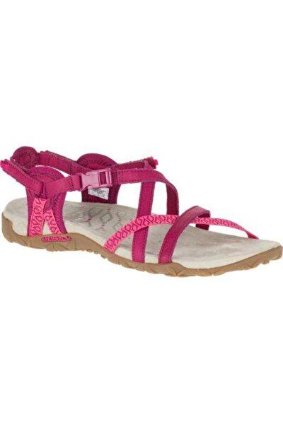Kadın Kırmızı Sandalet J55310.17O