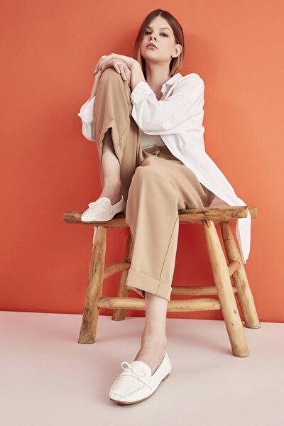 Beyaz Yaya Kadın Günlük Ayakkabı