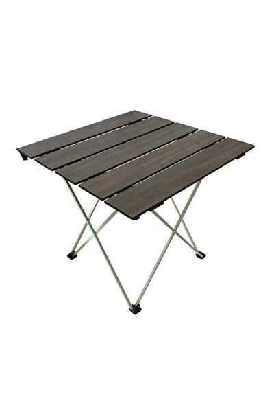 Ahşap Büyük Boy Katlanır Kamp Piknik Masası