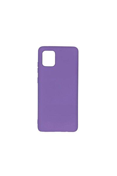 Samsung Note 10 Lite (a81) Uyumlu Içi Kadife Lansman Silikon Kılıf