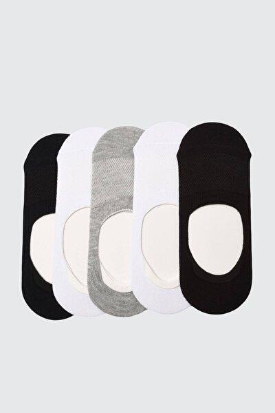 6 Çift Unisex Babet Çorap Fileli Karışık