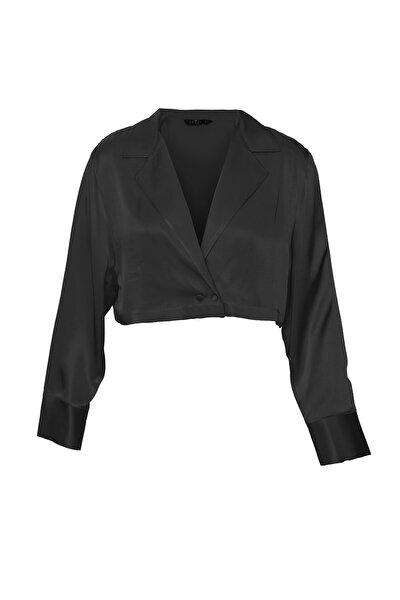 Kadın Siyah Vega Blazer Bluz