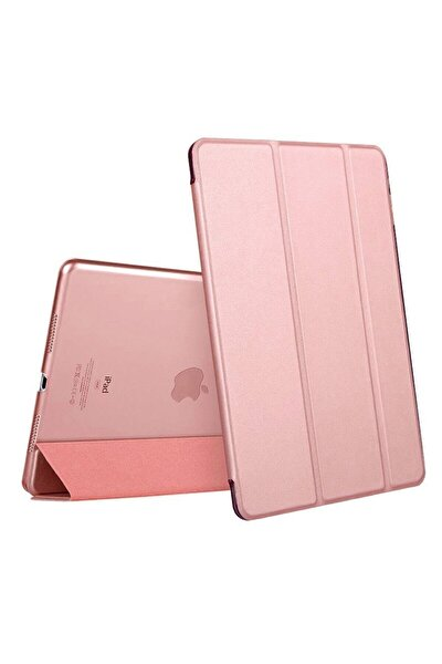 "Apple Ipad 8.nesil 10.2"" Pu Deri Smart Case A2270 A2428 A2429 A2430 Mor Kılıf"