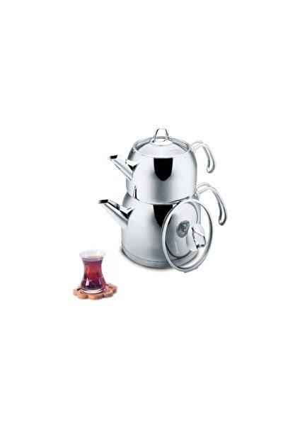 A105 Provita Maxi Çelik Çaydanlık Takımı